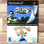 Hot Shots Golf 3/PaRappa the Rapper 2 Double Feature Demo Disc