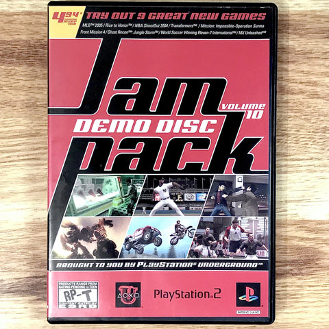 Jampack Demo Disc Volume 10