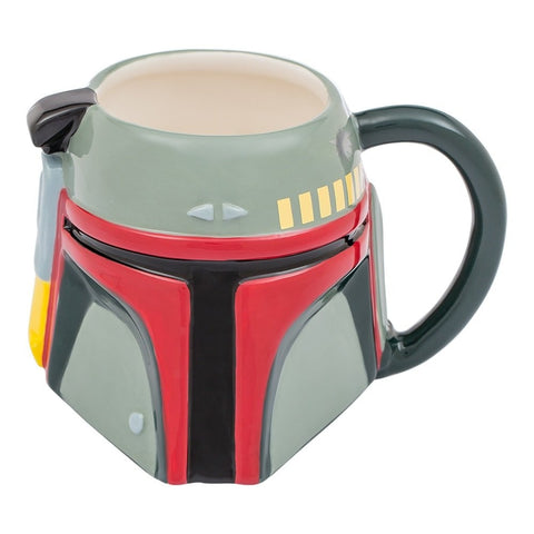 Star Wars Boba Fett 20 oz. Sculpted Ceramic Mug