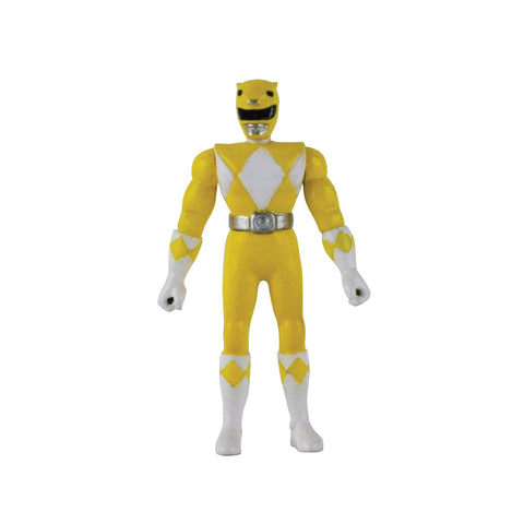 Yellow Ranger - Power Rangers - World's Smallest Micro Action Figure