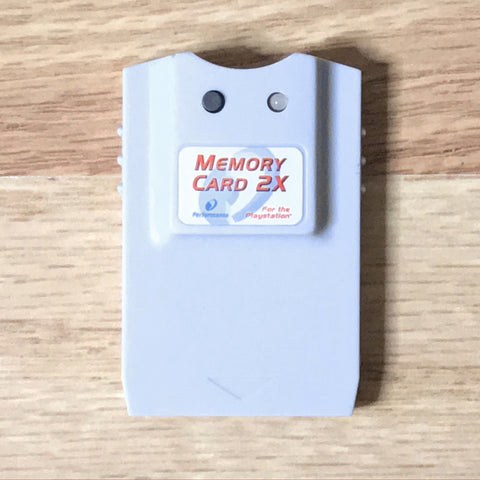 Performance PlayStation 1 Memory Card 2X
