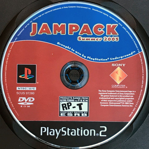 PlayStation Underground Jampack Summer 2003