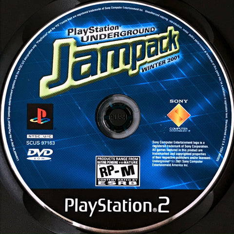 PlayStation Underground Jampack Winter 2001