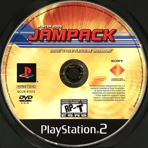 PlayStation Underground Jampack Winter 2003