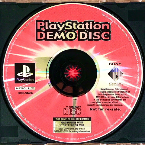 PlayStation Underground: Shock Your System! Demo Disc
