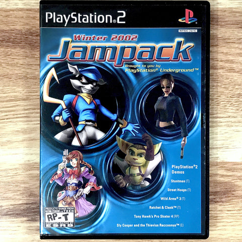 PlayStation Underground Jampack Winter 2002