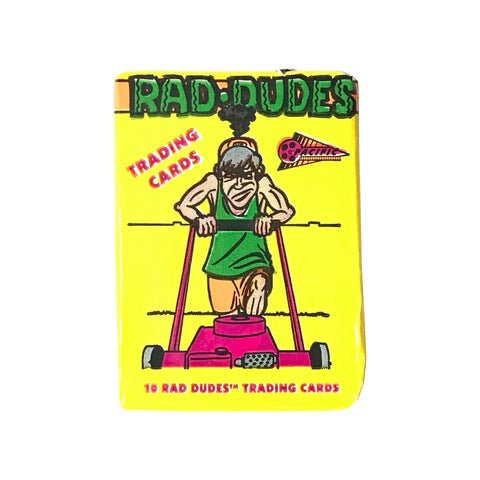 Rad Dudes Trading Cards Pack