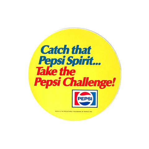 Take the Pepsi Challenge Decal
