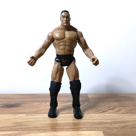 The Rock - WWF Titan Tron Live - Action Figure
