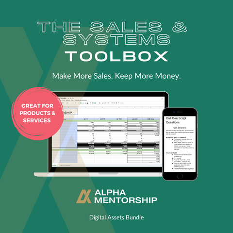 The Sales & Systems Toolbox