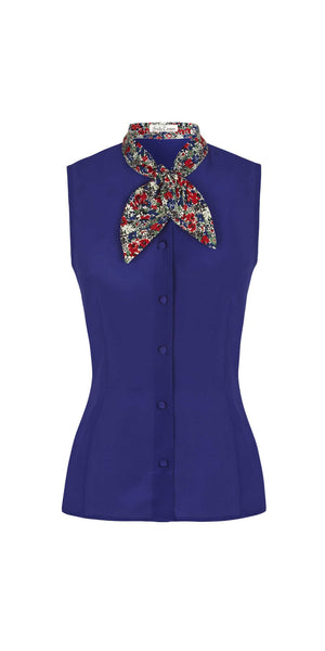 Sleeveless Leigh Blouse
