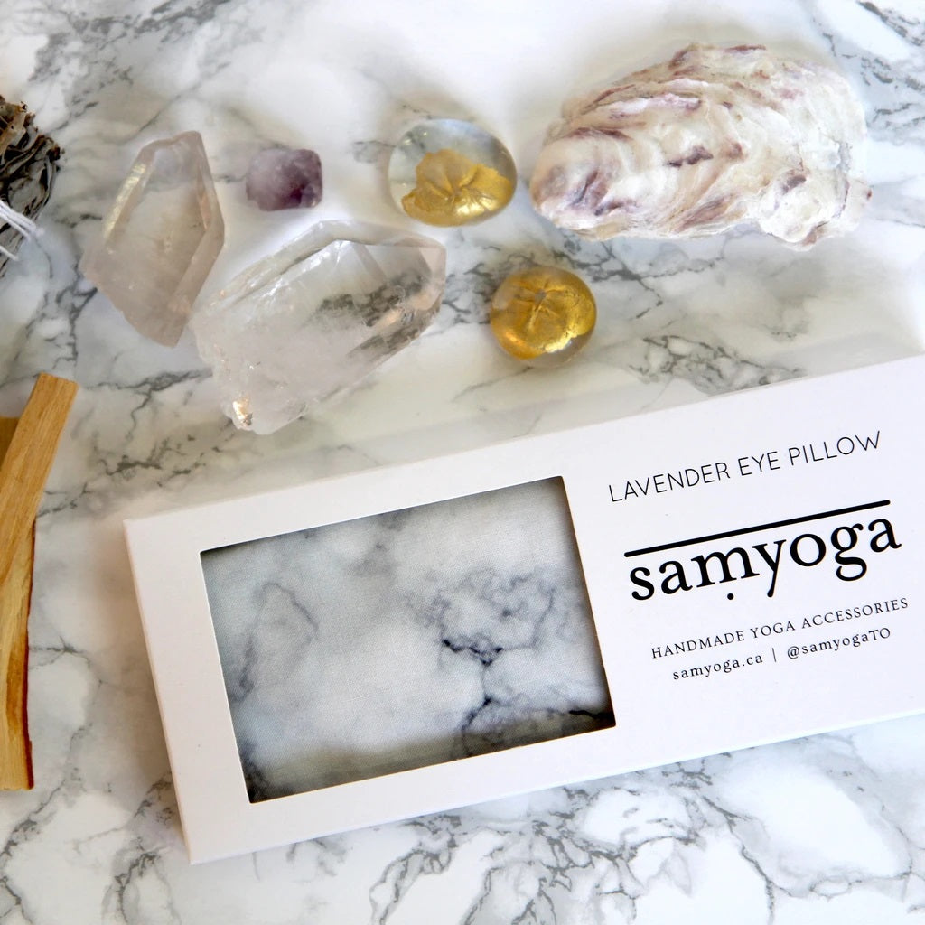 SAMYOGA - Lavender Eye Pillow