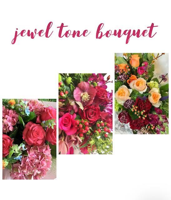 shop.balconi.ca Bouquets Florist Jewel Tone