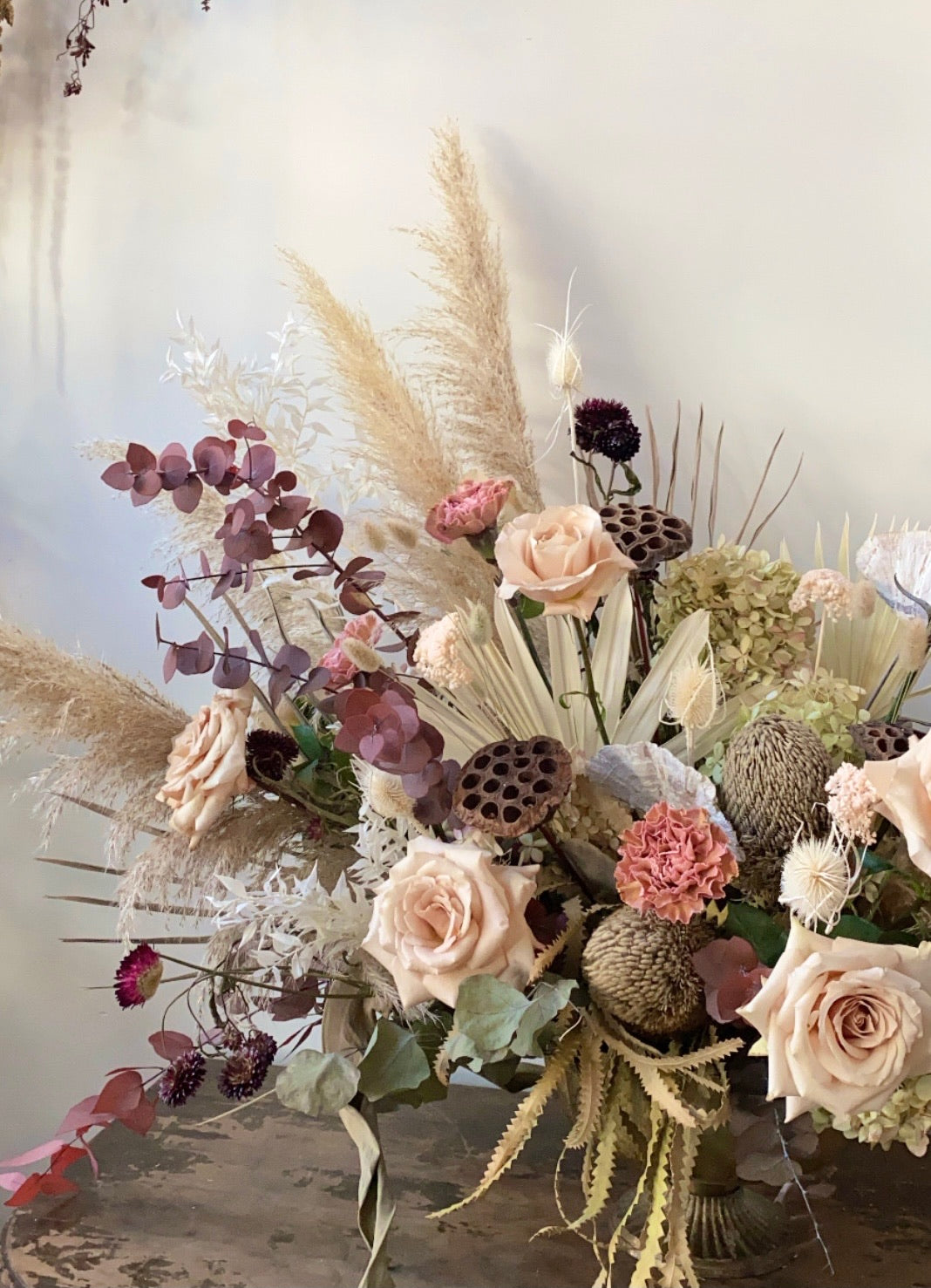 Everlasting dried Flower bouquet  Workshop