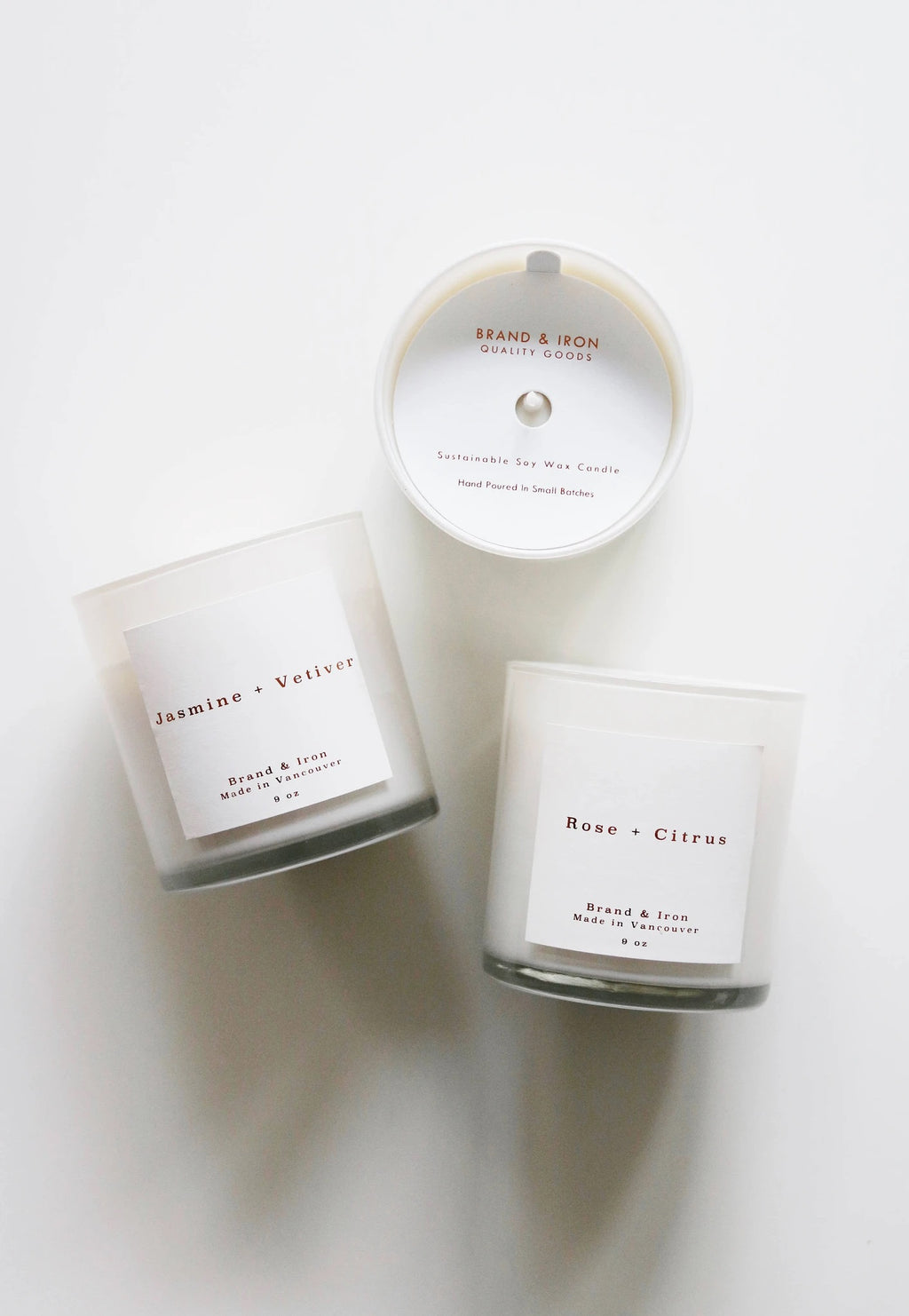 Brand & Iron Candles