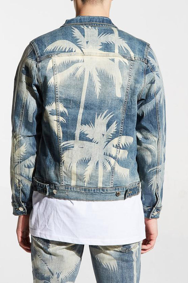 Embellish Norton Denim Jacket EMBSP119-214 -WH