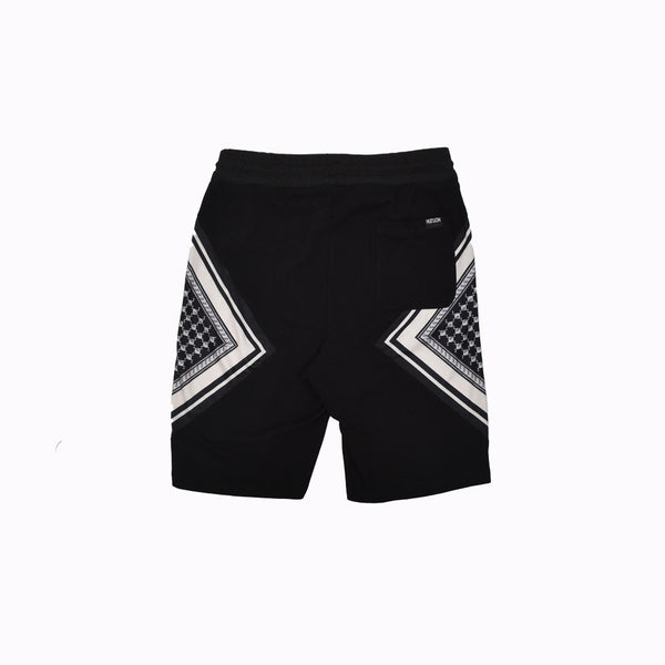 Hudson Outerwear Shorts H35399-BLK-WH - Georgios Clothing Store