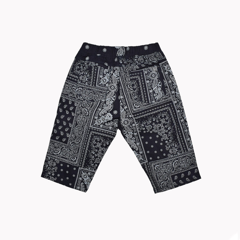 Forte Paisley Shorts 1706-WH