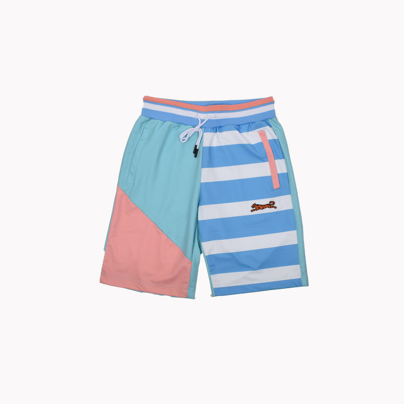 LeTIGRE Fleece Shorts LT-136-WH - Georgios Clothing Store