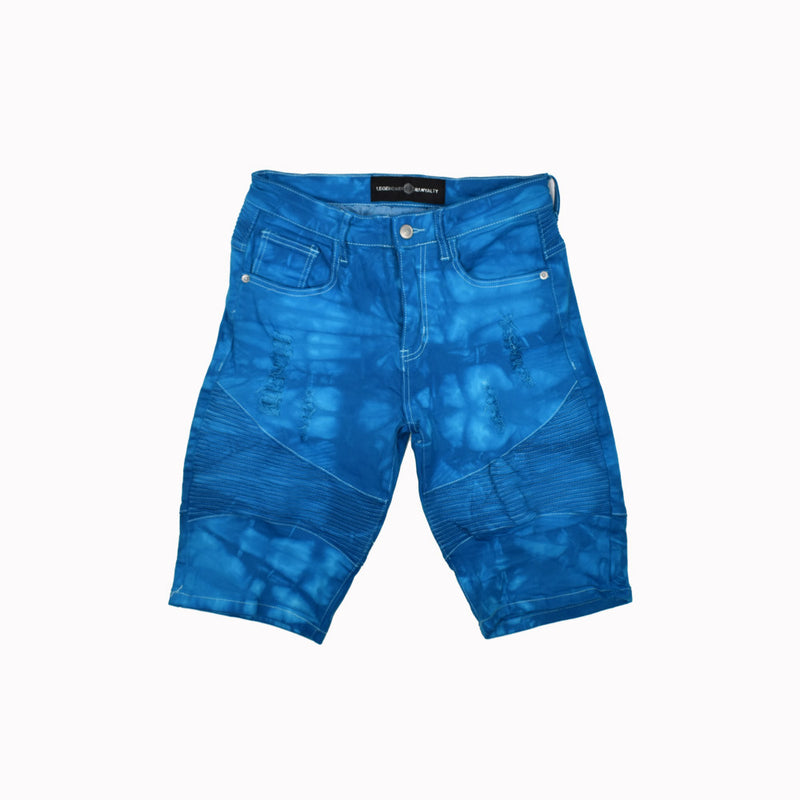 Rawyalty Tie Dye Shorts RJS-7-WH - Georgios Clothing Store