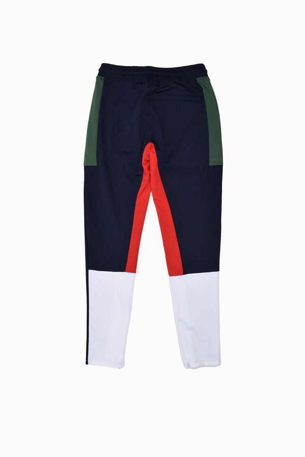 Akoo Retrograde Jogger Track Pants 791-1100-WH - Georgios Clothing Store