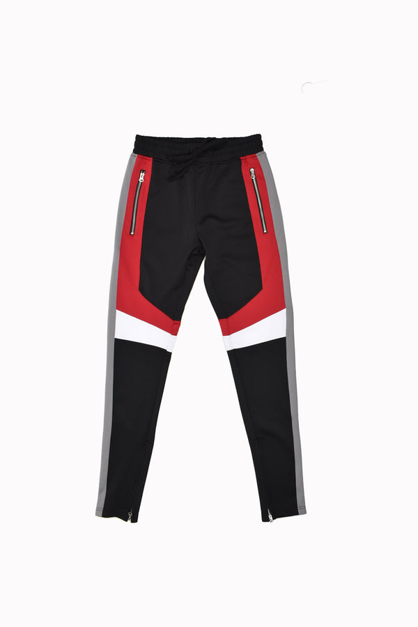 Karter Collection Track Pants KRTRFA18-4-WH