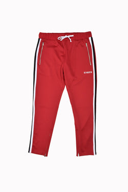 Karter Collection Track Pants KRTRFA218-2-WH - Georgios Clothing Store