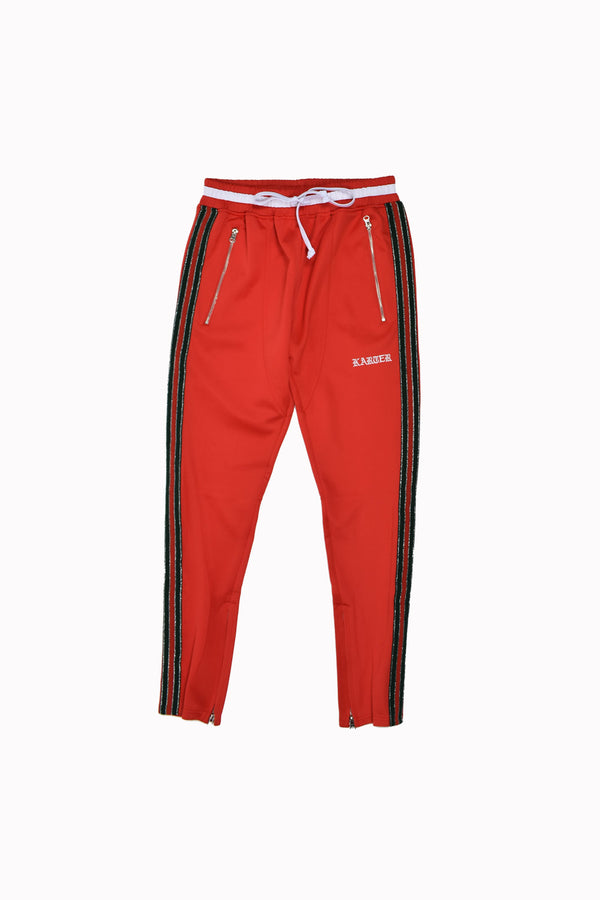 Karter Collection Floyd Track Pants KQSB17-A2-13-WH