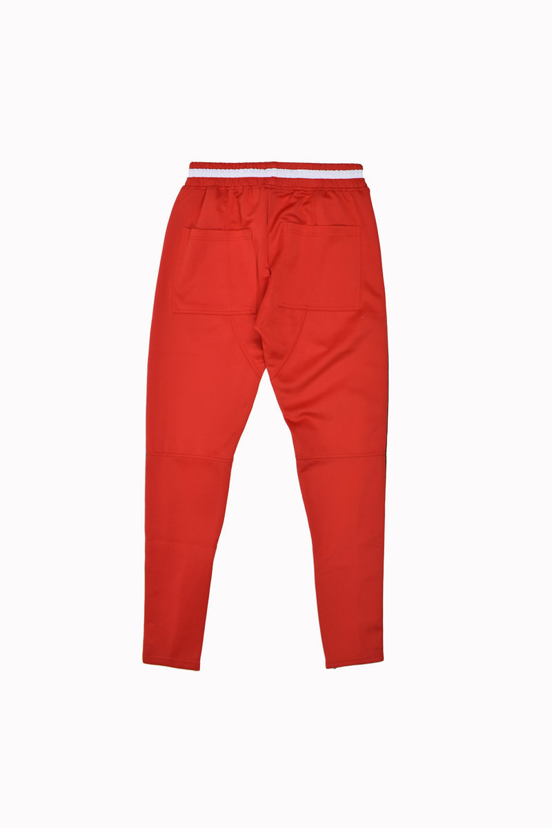 Karter Collection Mosley Track Pants KQSB17-A3-13-WH - Georgios Clothing Store
