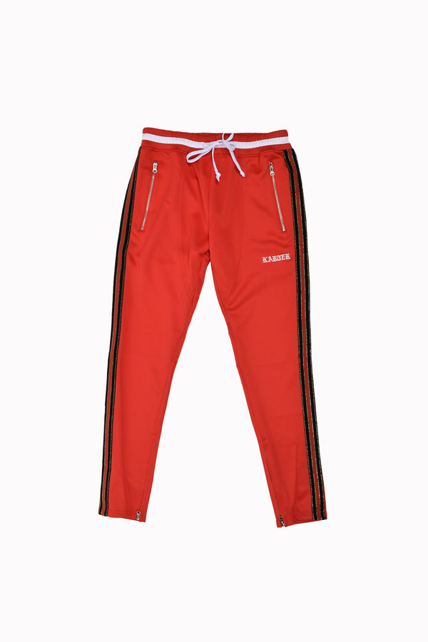 Karter Collection Mosley Track Pants KQSB17-A3-13-WH