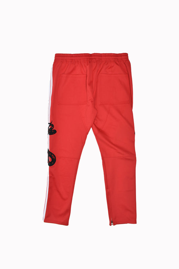 Karter Collection Maverick Track Pants KQS18BK-514-WH