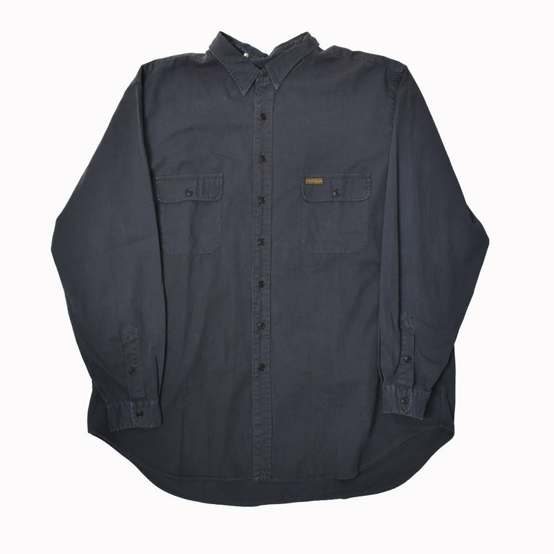 Polo Ralph Lauren Big & Tall Long Sleeve Button Down Shirt 7986621DSCT-WH - Georgios Clothing Store