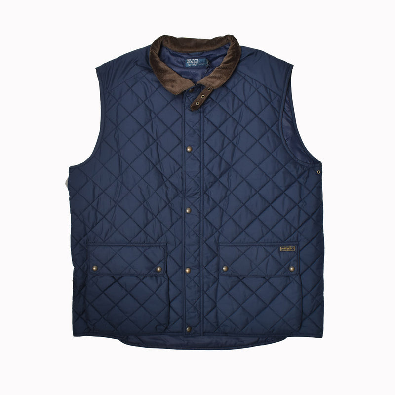 Polo Ralph Lauren Big & Tall Quilted Vest 72908877EVVV-WH