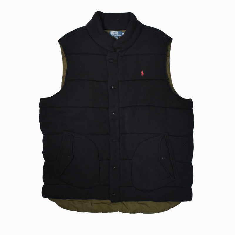 Polo Ralph Lauren Big & Tall Fleece Vest 0487218BT-WH