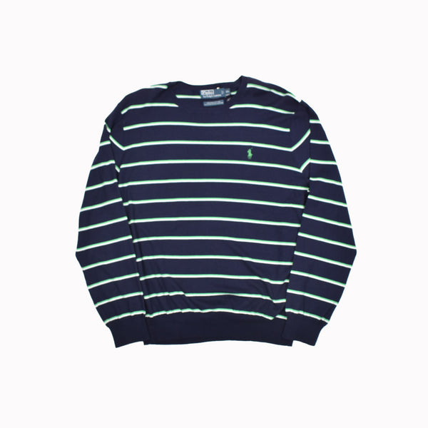 Polo Ralph Lauren Crew Neck Sweater 0187149ABC-WH - Georgios Clothing Store