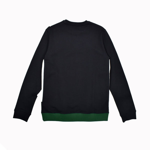 Raf Simons Tape Detail Sweater SM3084-WH - Georgios Clothing Store