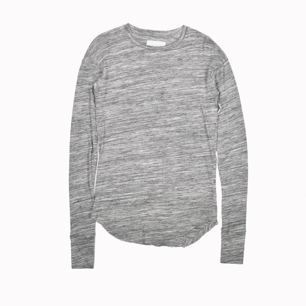 Kollar The Bane Extra Long Sleeve T-Shirt-WH