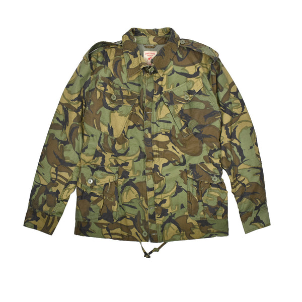 Hawke & Dumar Camo Jacket HD1210304-WH - Georgios Clothing Store