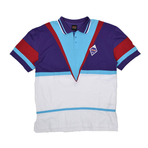 LeTIGRE Colorblock Polo Shirt LT-28-P-WH - Georgios Clothing Store