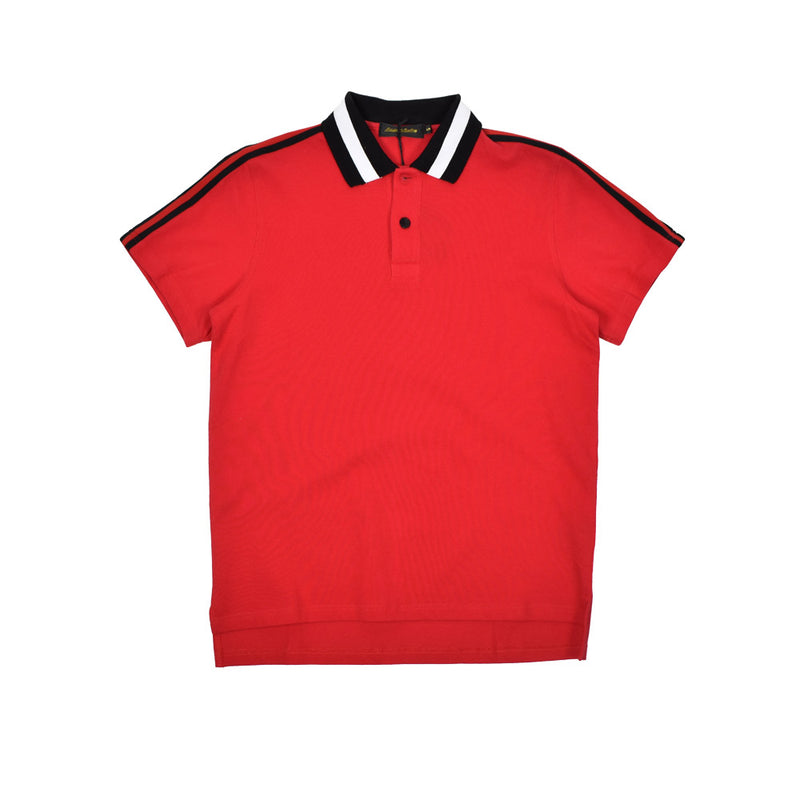 Karter Collection Polo Shirt KRTRFA18-45-WH - Georgios Clothing Store