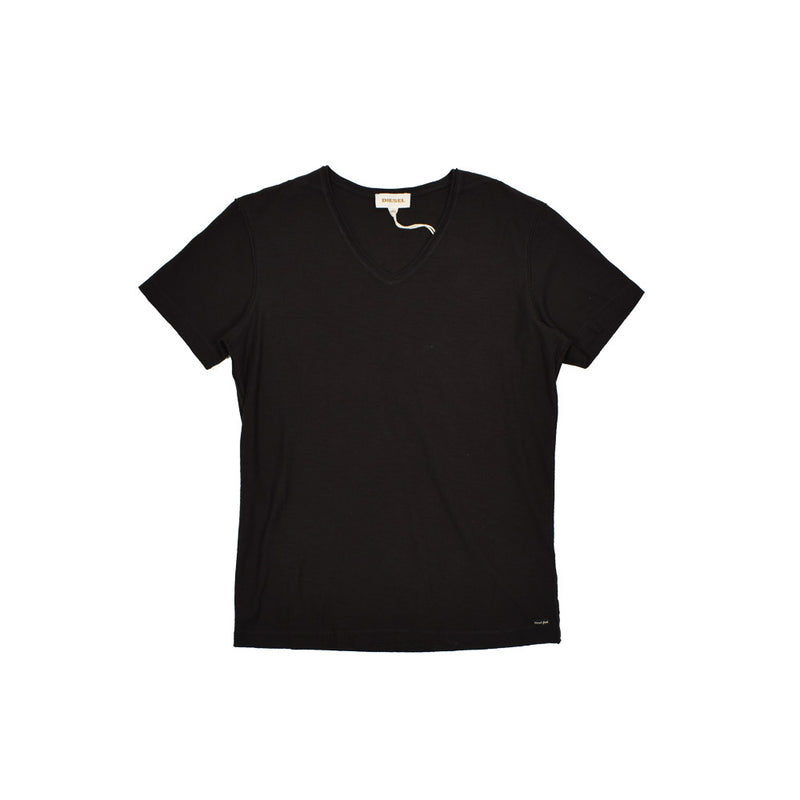 Diesel V-Neck T-Shirt 00S81300KDY-WH - Georgios Clothing Store
