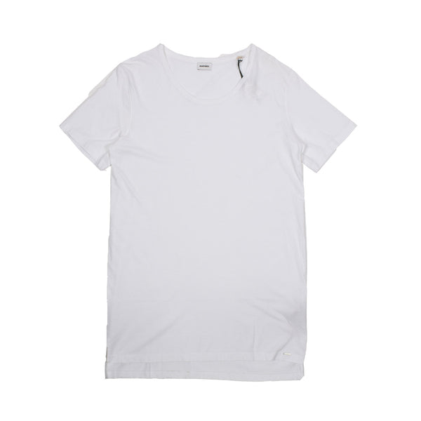 Diesel T-Shirt 00SQ2600DFM-WH - Georgios Clothing Store