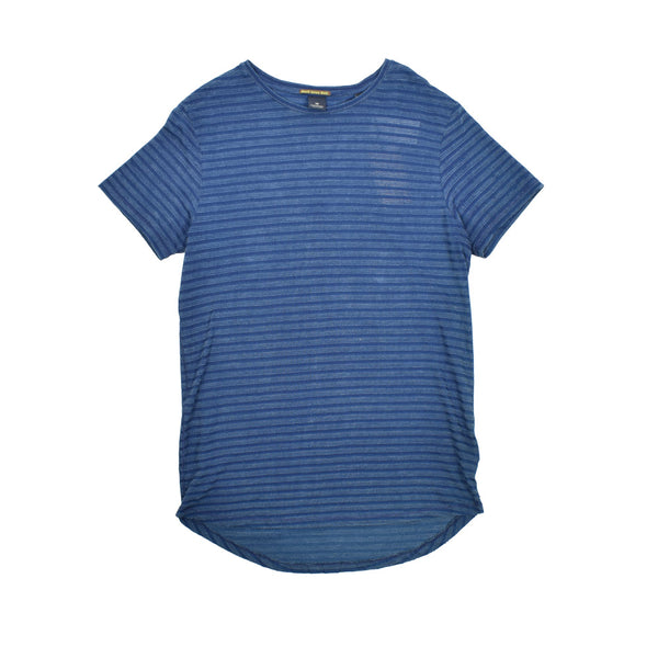 Scotch & Soda Striped Cotton T-Shirt 136472-WH - Georgios Clothing Store