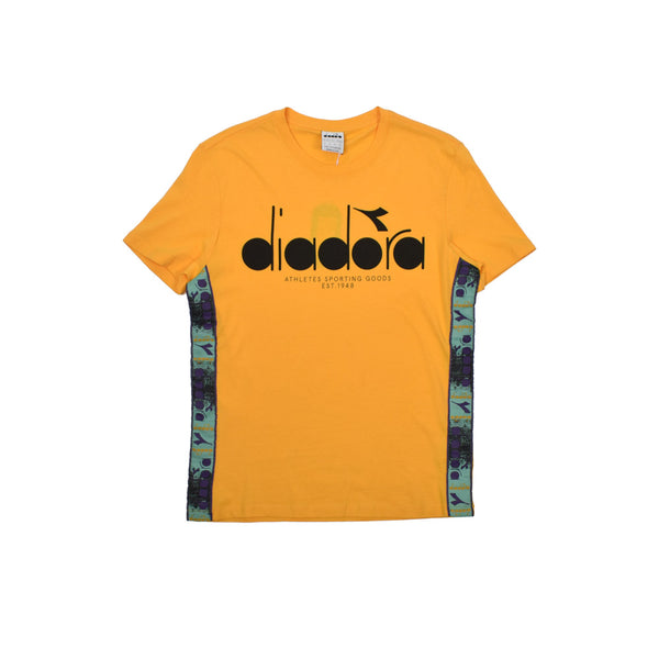 Diadora Cotton T-Shirt 502.175279-WH - Georgios Clothing Store