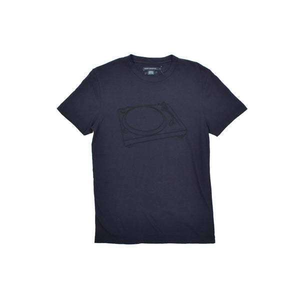 French Connection Split T-Shirt 56KCH-WH - Georgios Clothing Store