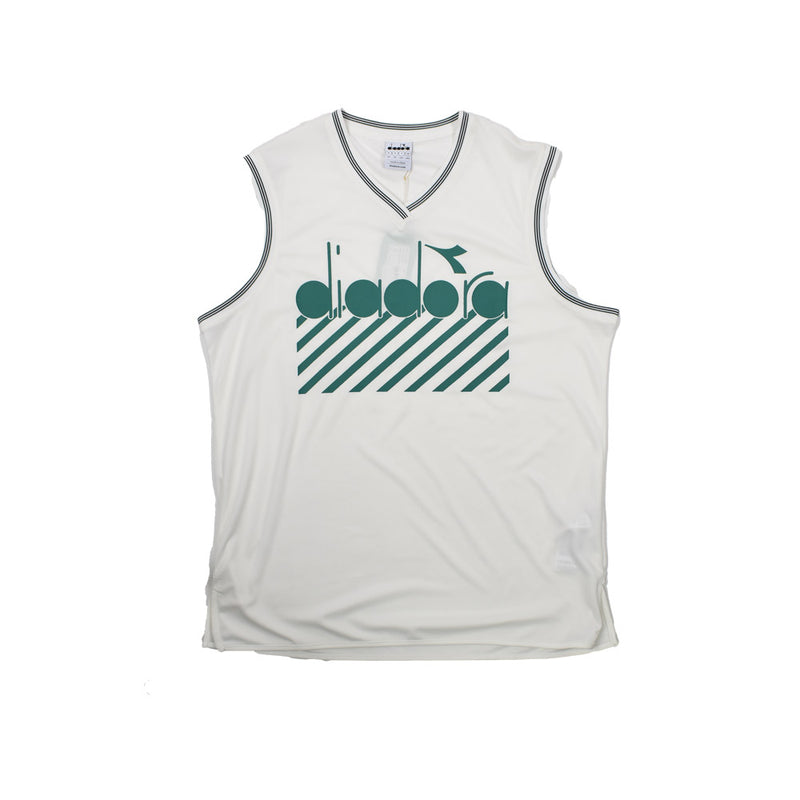 Diadora Barra Tank Top 502.174353 -WH - Georgios Clothing Store