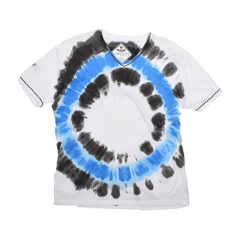 Rawyalty Tie Dye T-Shirt RMT-000 -WH - Georgios Clothing Store