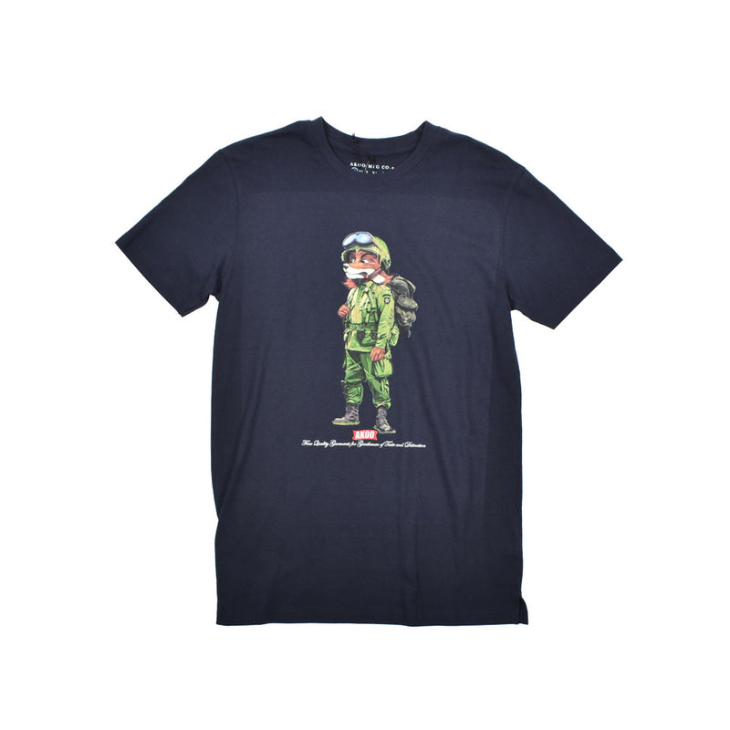 Akoo Graphic T-Shirt 791-1202 -WH