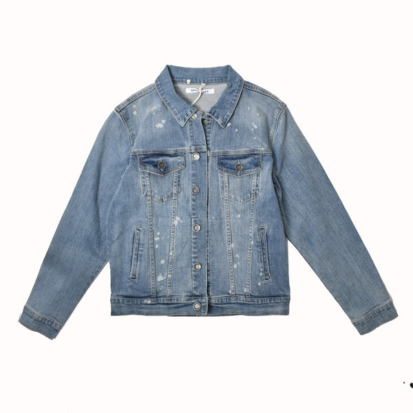Embellish Light Denim Jacket EMBHOL18-X2 -WH