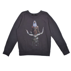 Reception Eagle Graphic Sweatshirt -WH